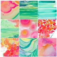 Colour Study Patch Fine Art Print