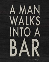 Bar I Fine Art Print
