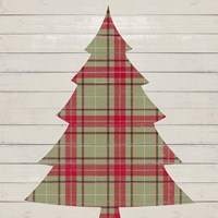 Plaid Christmas II Fine Art Print