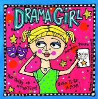 Drama Girl Fine Art Print