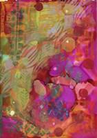 Texture - Red Green Fine Art Print