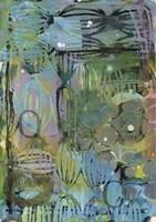 Texture - Blue Green Fine Art Print