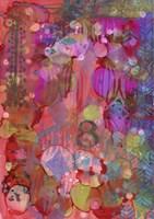 Texture - Red 8 Fine Art Print