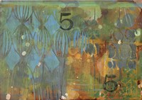 Texture - Blue 5 Fine Art Print
