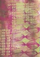 Texture - Pink Lime Fine Art Print
