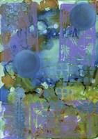 Texture - Blue Fine Art Print