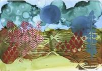 Texture - Blue Sky Fine Art Print