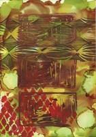 Texture - Brown Green Fine Art Print