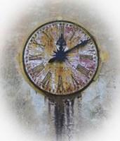 Italy Clock 1 Fine Art Print