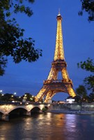 Eiffel Tower 3 Fine Art Print