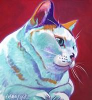 Cat - Pixie Girl Fine Art Print