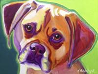 Puggle - Cooper Fine Art Print