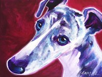 Greyhound - Myrtle Fine Art Print