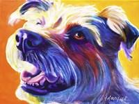 Wire Hair Terrier - Penny Fine Art Print