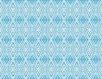 Blue Diamonds II Fine Art Print