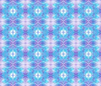 Purple and Blue Ethereal Fine Art Print