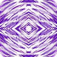 Purple with White Streaks Fine Art Print