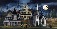 Halloween Kids Fine Art Print