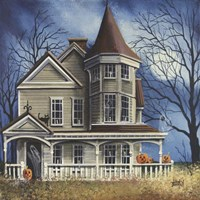 Haunted House Fine Art Print