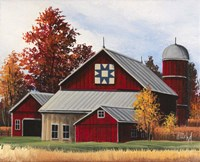 Fall Barn Fine Art Print