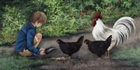 Feeding Ralphie Fine Art Print