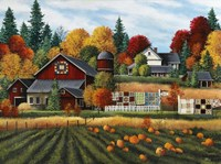 Autumn on the Farm Fine Art Print