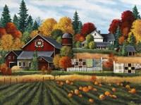 Autumn on the Farm Fine Art Print