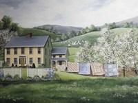 Spring House Fine Art Print