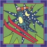 Max Cat Skiing 1 Fine Art Print