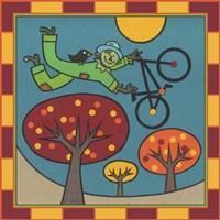 Stitch The Scarecrow Bike 1 Fine Art Print