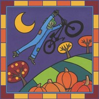 Stitch The Scarecrow Bike 2 Fine Art Print