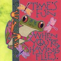 Frog I Framed Print