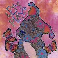Pit Bull Puppy IV Fine Art Print
