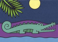 Crocodile Fine Art Print