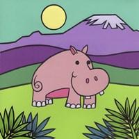 Hippopotamus Fine Art Print