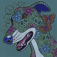 Greyhound 2 Fine Art Print