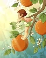 Tangerine Blossom Fine Art Print