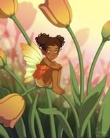Tulip Sunrise Fine Art Print