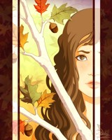 Autumn Branches Fine Art Print