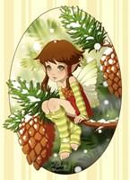 Pine Fairy Fine Art Print