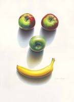 Happy Fruit Fine Art Print