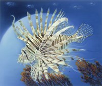 Lion Fish Fine Art Print