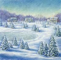 Winter's Day Fine Art Print