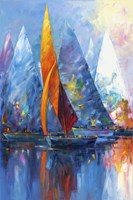 Sail Boats Fine Art Print
