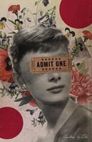 Audrey Fine Art Print