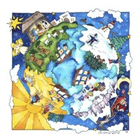 Christmas World Fine Art Print
