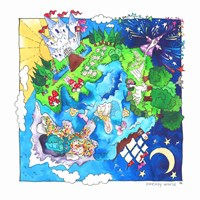 Fantasy World Fine Art Print