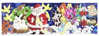 Santa's List Fine Art Print