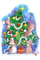 Oh Christmouse Tree! Fine Art Print