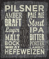 Beer Sign III Fine Art Print